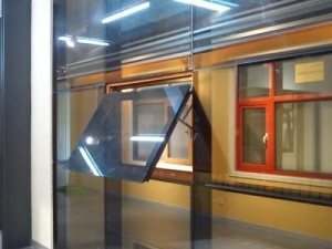 China Glass curtain wall on sale