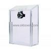 China China acrylic box manufacturer hot selling large acrylic ballot box anonymous suggestion box BBS-045 for sale