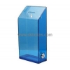 China Customized acrylic box of collection clear suggestion box ballot box with lock BBS-054 for sale