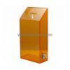 China Custom design acrylic plexiglass ballot box safety suggestion box large acrylic ballot box BBS-065 for sale