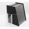 China Wholesale acrylic cheap suggestion box black ballot box large suggestion box BBS-071 for sale