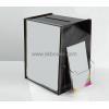 China Custom acrylic ballot box with brochure holder BBS-002 for sale