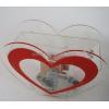China Heart shape acrylic ballot box BBS-001 for sale