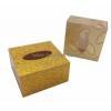 China Custom design square acrylic tissue paper box BTB-006 for sale