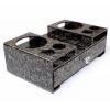 China Wholesale acrylic crystal tissue box drawer box plastic storage box with handle BTB-086 for sale