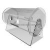 China Custom transparent round acrylic plastic ballot box BBS-006 for sale