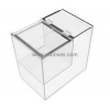 China Custom design transparent acrylic plastic box for food with divider and lid BFD-010 for sale