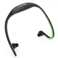 China Black Green Bluetooth Stereo Sport Handsfree Headphone Headset for iPhone 5 4 4S on sale