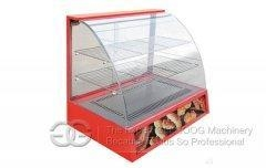China Glass Hot Food Warmer Display Showcase 3-Layers GGH-660 on sale