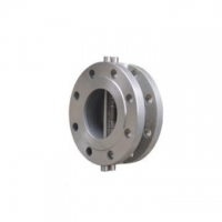 Cast Steel Check Valve Flanged Dual plate Wafer Check Valve