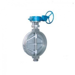 China Cast Steel Check Valve Wafer Triple Offset Butterfly Valve on sale