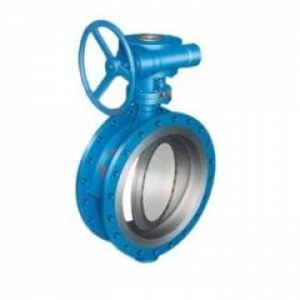 China Cast Steel Check Valve Metal Seated Butterfly Valve Gear Operation on sale