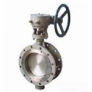 China Cast Steel Check Valve Gear Operation Butterfly Valve on sale