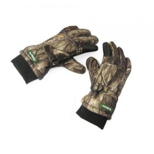 China Headlights GNS-001Realtree series Leaf Bionic Camo Insulated waterproof Hunter Gloves for Safari on sale