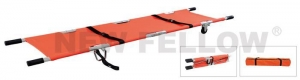 China Emergency Stretchers Aluminum Folding Stretcher For Sports Ground Rescue NF-F7-1 on sale