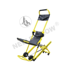 China Foldable Ambulance Stair Chair Aluminum Alloy Wheel Chairs Automatic Climbing NF-W4 on sale