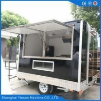 China China made food cart mobile kitchen trailer mobile food trailers for sale on sale