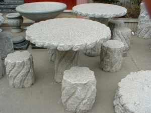 China outdoor stone benches on sale
