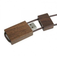 China Wooden Lanyard Best Flash Drives USB with Eco-friendly usb stick eco friendly on sale