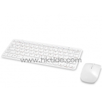Wireless keyboard Gtide ultra slim 2.4Ghz wireless keyboard and mouse combo-01 for iMac and PC