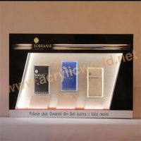 China led acrylic display case for cigarette Marlboro on sale