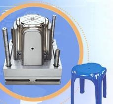 China Plastic Chair Mould (without arm) on sale