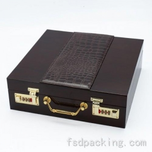 China Large Wooden Jewelry Box Case FMH055 on sale