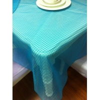 round table with cloth Organza Round Table Cloth