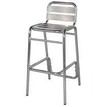 China Bar Stools CIchairs Outdoor Aluminium Bar Stools on sale
