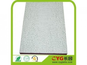 China Closed cell polyethylene foam backed with aluminum foil on sale