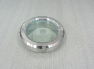 China Tri Clover Compatible Process View Sight Glass, Stainless Union Sight Glass on sale