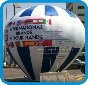 China 30ft tall inflatable Promotions on event, cold air inflatables, hot air balloon shapes,best supplier on sale