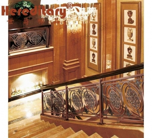 China Stair Aluminum Fence for Town House (SJ-831) on sale