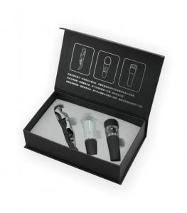 China BS301 3-piece Wine Accessories Gift Set on sale