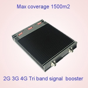 China 850 1900 1700/2100MHZ AWS Tri band mobile signal booster for Canada Use on sale