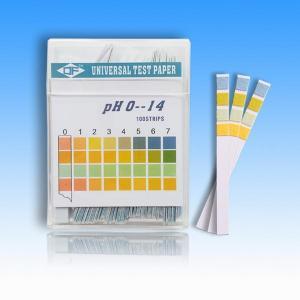 China Cardiac Market Test PH 0-14water quality test strip pH 0-14 on sale