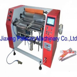 China Semi Auto Aluminium Foil Rewinding Machine on sale
