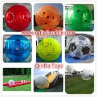 High Quality Free Customize PVC/TPU Human Sized Hamster Ball Inflatable Zorb Ball Rental