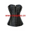 China Sexy Corsets Item No.A1415 faux leather black corset for sale