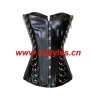 China Sexy Corsets Item No.A1414 Faux leather corset top for sale
