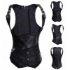 China Sexy Corsets Item No.Sexy Gothic Underbust Steampunk Corset Brocade Victorian Vest Waistcoat Plus for sale