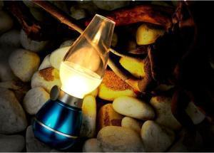 China Lileng-220 Modern LED Kerosene Lamp Blow Out Led Lamp on sale