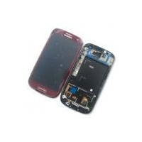 Samsung Galaxy S3 i9300 LCD Digitizer with Frame Red