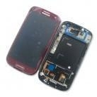 China Samsung Galaxy S3 i9300 LCD Digitizer with Frame Red on sale
