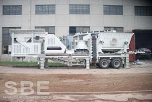 China Iron ore mobile cone crusher station for sale in Iran on sale