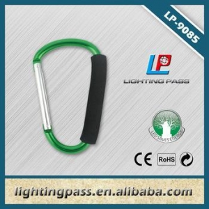 China Selling well aluminum carabiner for promotional gift on sale