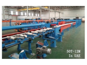 China Casting Machines Automatic Hydraulic Drawing Bench on sale