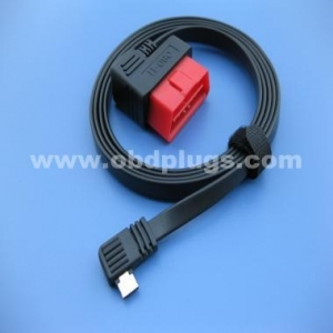China OBDII cable OBD to 90 degree Samsung 12P cable on sale