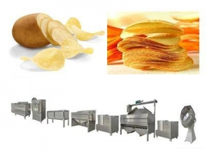 China Potato chip processing line on sale
