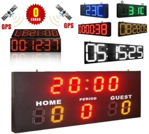 China LED Scoreboard,GPS Time&Temperature Display, Time Counter Display,Exchange Rate Display and etc. on sale